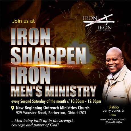 Iron Sharpens Iron Men's Ministry