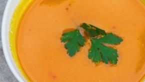 Potage de  carottes & daikon au gingembre et à l'ail : Délicieux et protecteur !