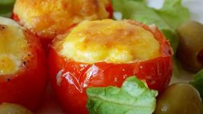 Nid de tomate à l'oeuf et ses herbes de saison !