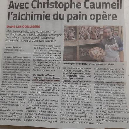 Pain de Christophe Caumeil à l'Hort Del