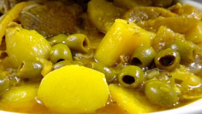 Les pommes de terre Celtiane en Tajine de poulet & citrons confits, on adore !