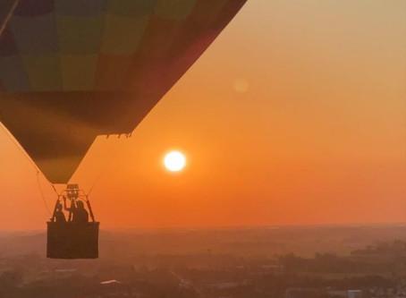 Mais de 600 voos de balão nos Canyons