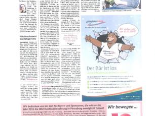 """Artikel in der """"TIP"""" in Quickborn vom 06.12.2015"""