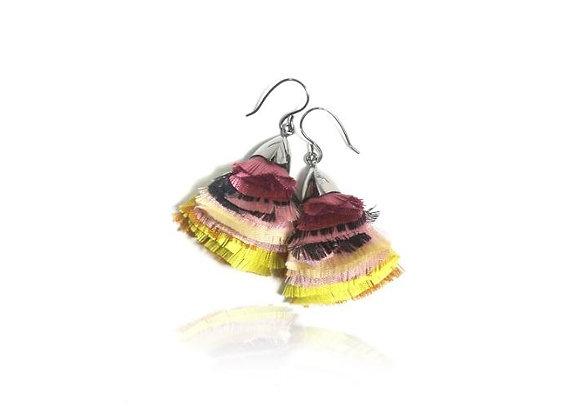 La Orr - Blossom Ballet Earrings (Plump,yellow)