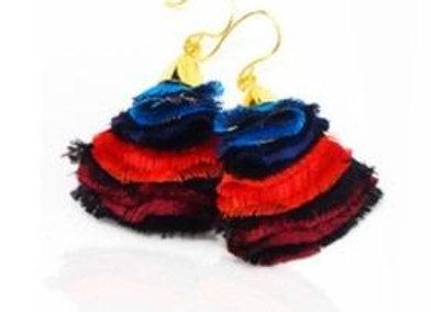La Orr Blossom Ballet Earrings (rainbow)