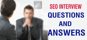 Interview question for SEO Fresher