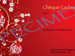 A court d'idée de cadeau pour Noël ? Offrez un chèque photo !