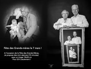 7 mars Fête des Grands-mères