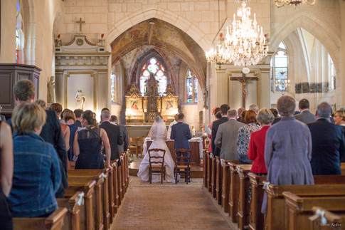 Valérie Kattan Photographe mariage l'église Vernon Eure (27) Normandie