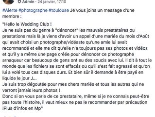 Pourquoi il faut TOUJOURS prendre un photographe PROFESSIONNEL pour son mariage (et autres événement