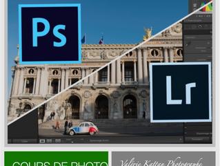 Cours sur Lightroom et Photoshop