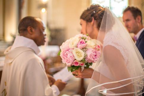 Valérie Kattan Photographer wedding church  Vernon Eure (27) Normandy