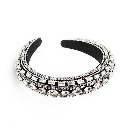 Fifty-Shades of Silver Headband