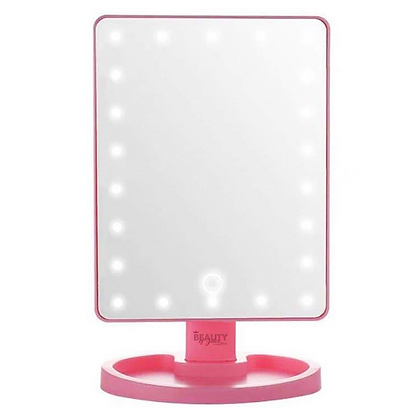 LED Pink Mirror