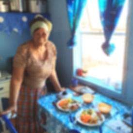 Immerse_ESader, ZHuang homestay mom.JPG