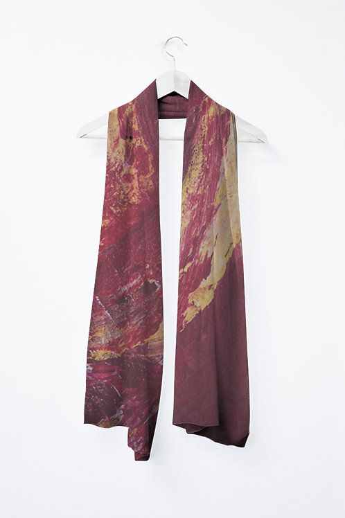 Vivienne Scarf -  Grand foulard de chiffon