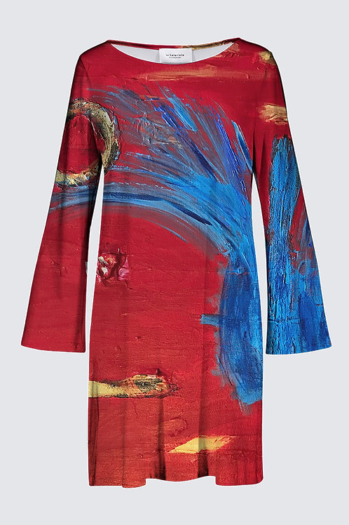Marianne Flare Dress -La Marianne Robe Trompette