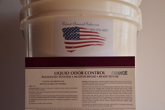1 GAL ORANGE LIQUID HD ODOR CONTROL ELIMINATOR