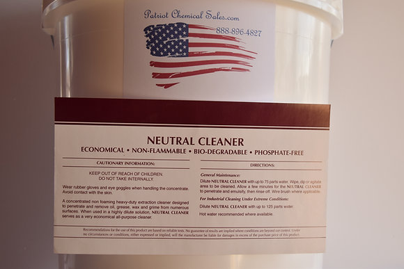 5 GAL NEUTRAL CLEANER CONCENTRATE