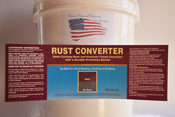 Rust Converter 1 Gal Heavy Duty
