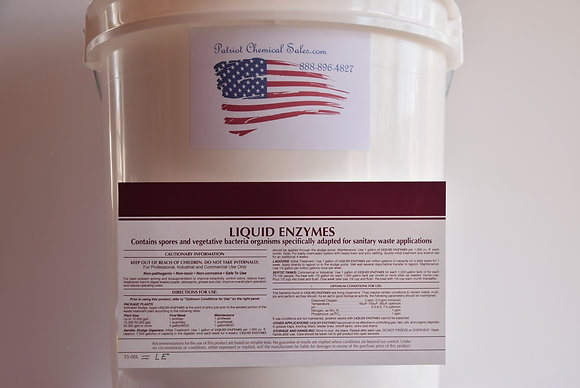 1 GAL LIQUID ENZYMES CONCENTRATE SEWER CHEMICAL