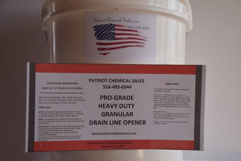 25 Lb Drain Line Opener Hd Sewer Chemical
