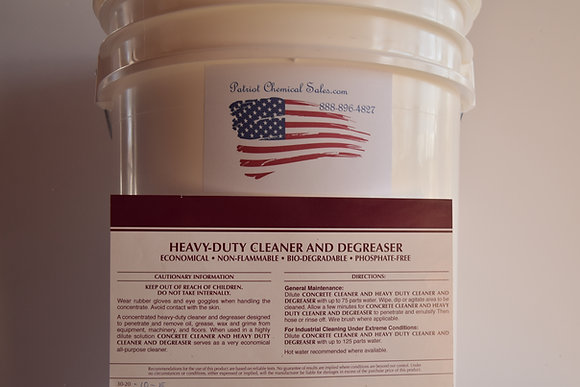 5 GAL PAIL HEAVY DUTY CLEANER DEGREASER