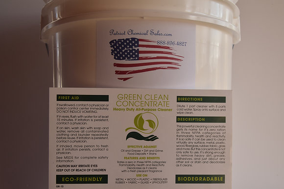 1 GAL GREEN STAINLESS STEEL CLEANER