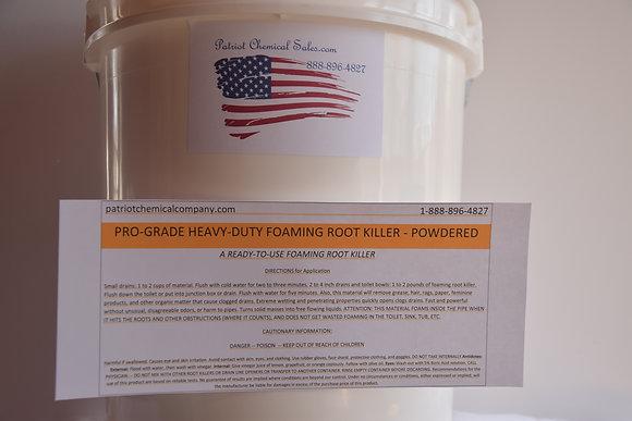 50 LB FOAMING ROOT KILLER POWDER SEWER CHEMICAL