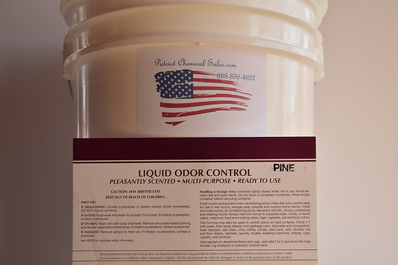 5 GAL PAIL PINE LIQUID HD ODOR CONTROL ELIMINATOR