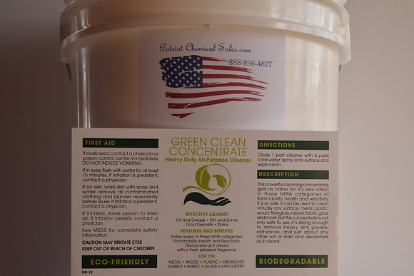1 GAL GREEN CLEAN CONCENTRATE ALL-PURPOSE