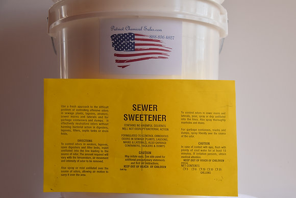 SEWER SWEETENER 1 GAL SEWER CHEMICAL