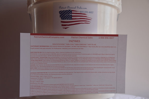 50 LB POWDER ENZYME CONCENTRATE