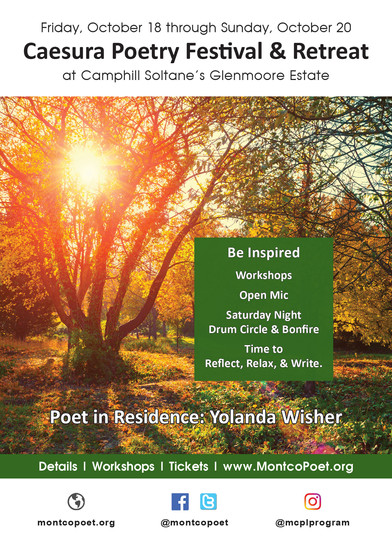 Caesura Event Postcard