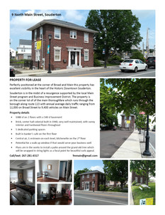 Real Estate Tear Sheet