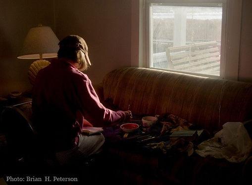 Brian Peterson photo of Helen Mirkil