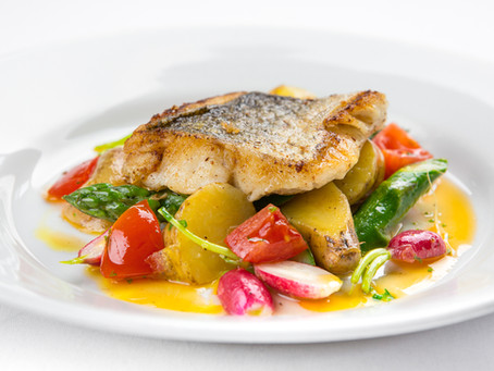 From Restaurant to Home: Hake with Asparagus Recipe