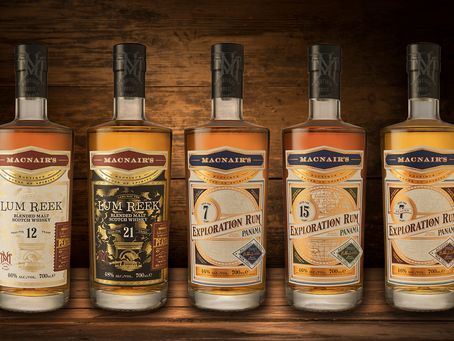 MacNair Boutique House of Spirits releases new Exploration Rum range