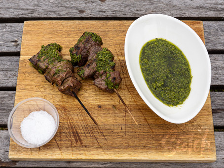 Midge Proof Marinade and Dip for a Scotch Beef BBQ