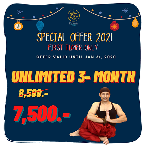 Unlimited 3-month