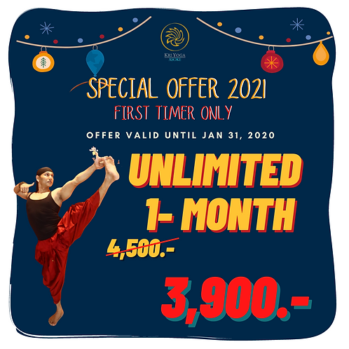Unlimited 1-Month