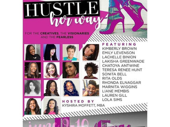 Coach L Speaks at Hustle Her Way 2017- Pittsburgh