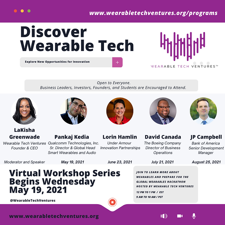 Wearables Informational Day(s)