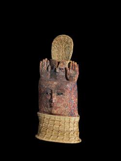 Piwi ,Seigneur des Moissons.59x29x15 cm.