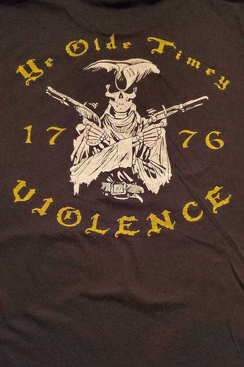 Triarii Old Time Violence Tees- Black