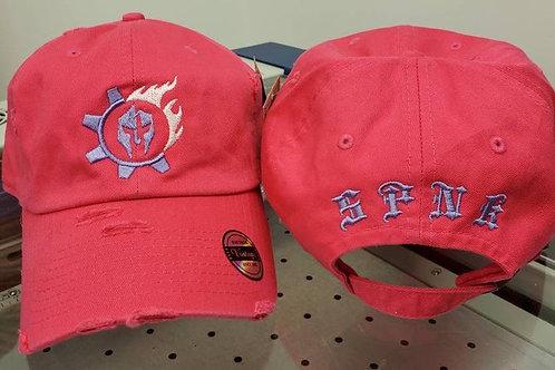 Triarii Metalworks Hot pink Distressed operator hats