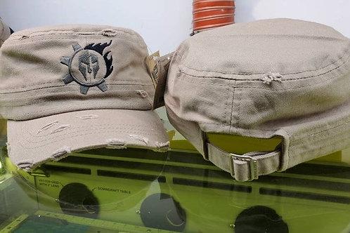 Triarii Metalworks Desert Tan Engineer Hat