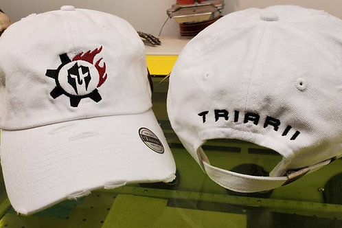 Triarii Metalworks White Operator Hats