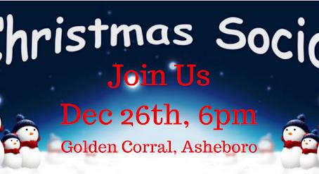 December 26, 2017 Christmas Social