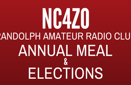 09/24/19 - Annual Meal & Officer Elections